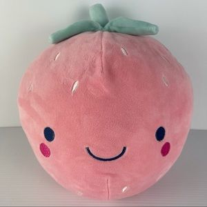 Very Cute Strawberry Plush Toy - As New